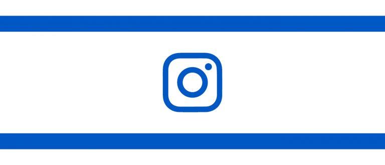 דגל ישראל עם לוגו אינסטגרם במקום מגן דוד